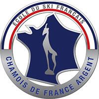 Médaille du Chamois de d'Argent de l'ESF