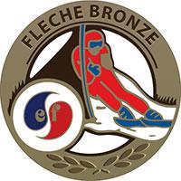 Médaille de la flèche de Bronze de l'ESF