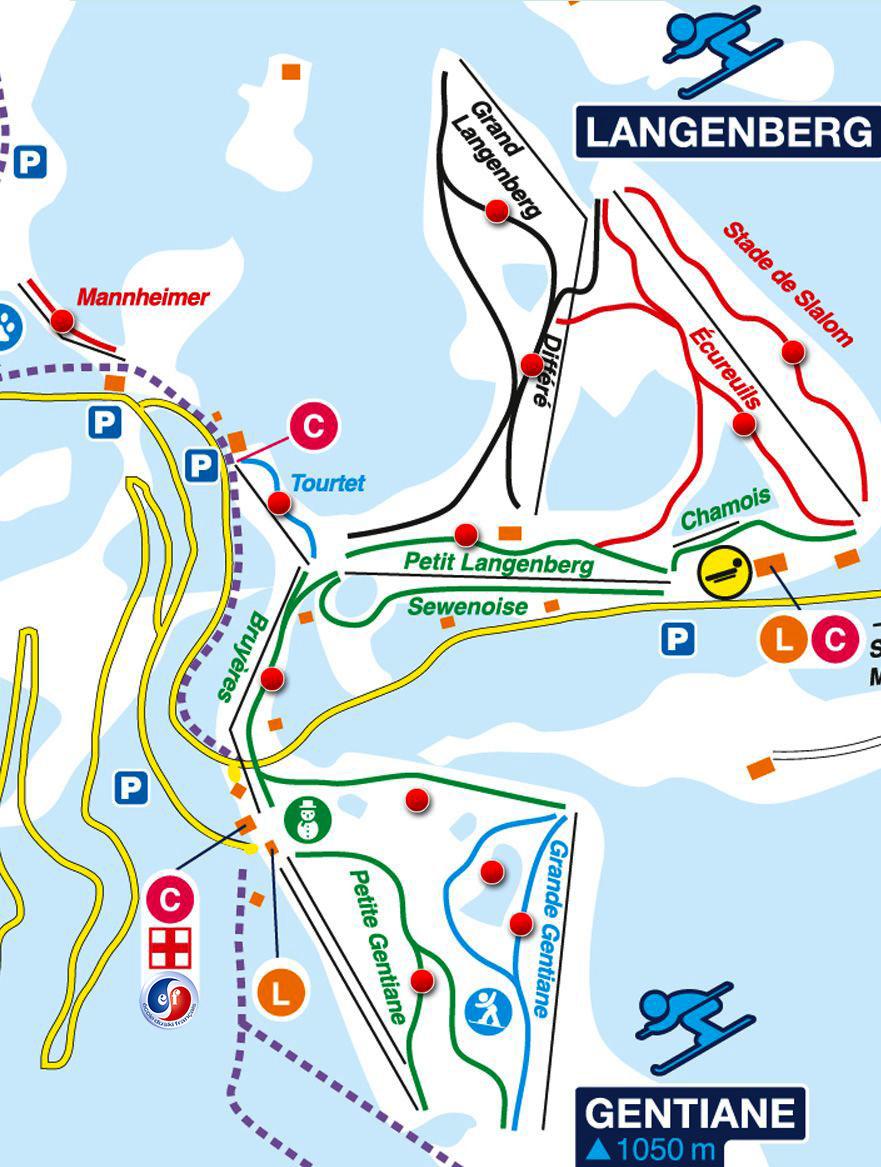 Plan de la Gentiane 1050m Ballon D'Alsace